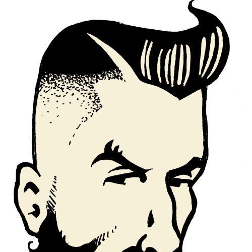 Vince Ray Ilustrador de arte internacional Low Brow, Reino Unido