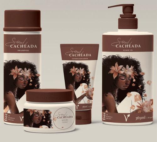 illustration d'emballage pour produit de beauté