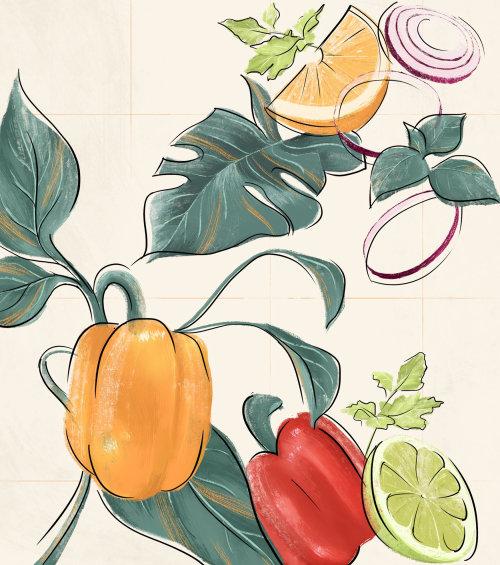 Nature fruits et légumes