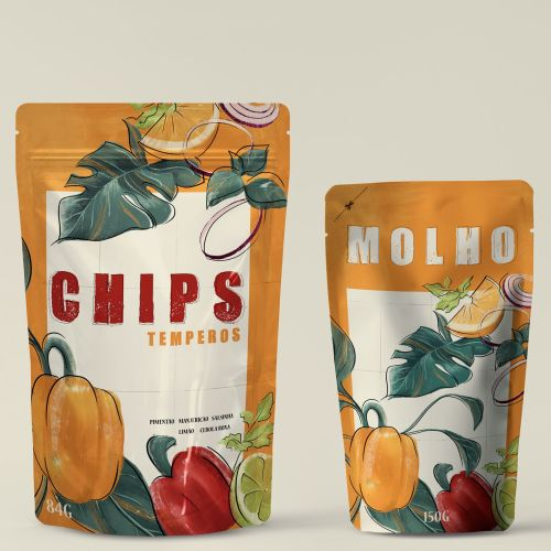 Advertising chips temperos