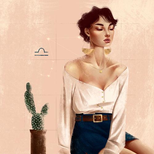 Illustration de mode femme