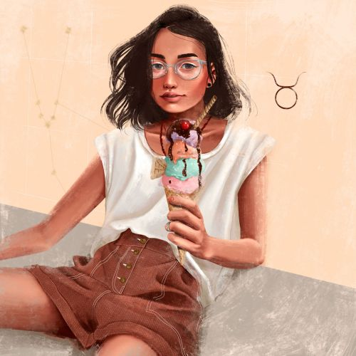 Vivi Campos Food & Drink Illustrator from Brazil