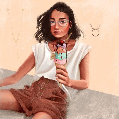 L'autoportrait de Taurine