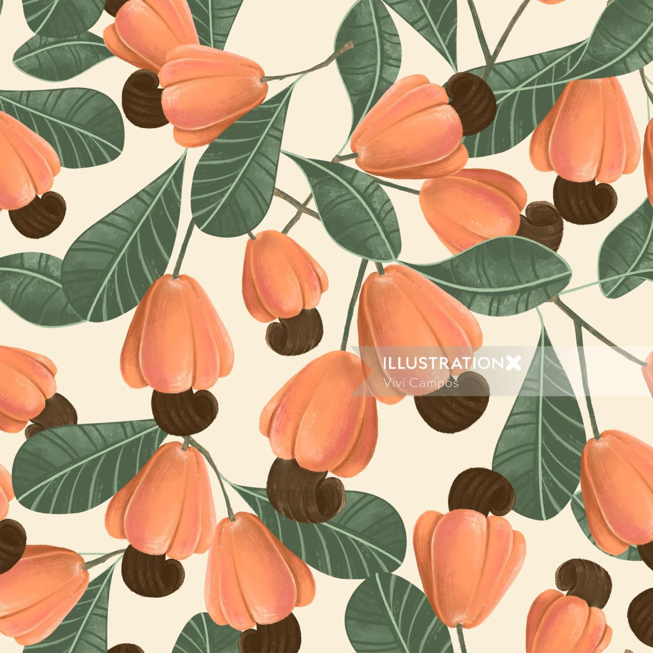 Fashion Nature dressing pattern