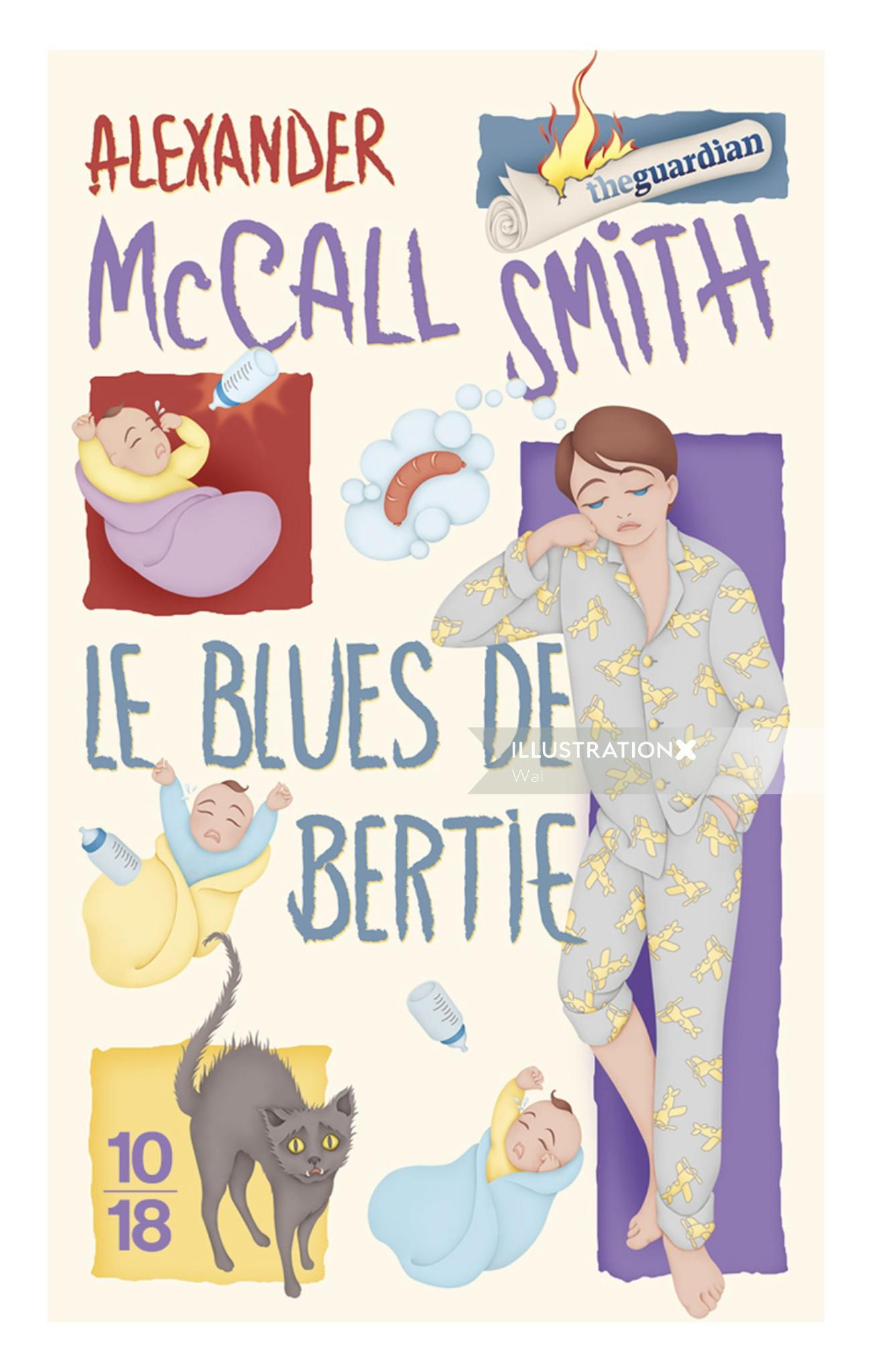 Alexander McCall Smith book cover illustration