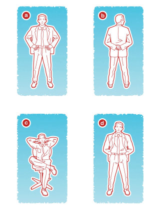 How to wear suit humorous info-graphic diagrams