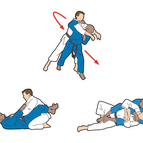 Holland and Barrett Ju Jitsu Vector graphic