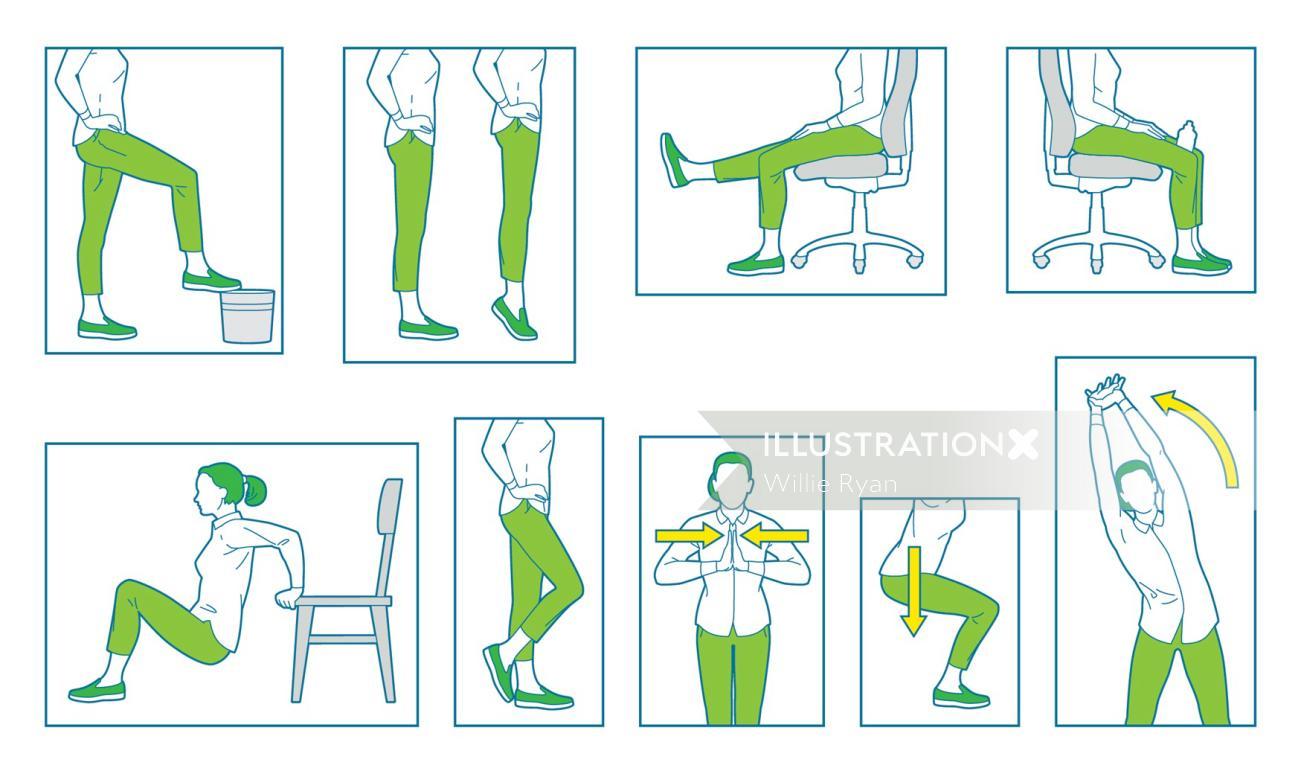 waitrose infographic Desk Exercies