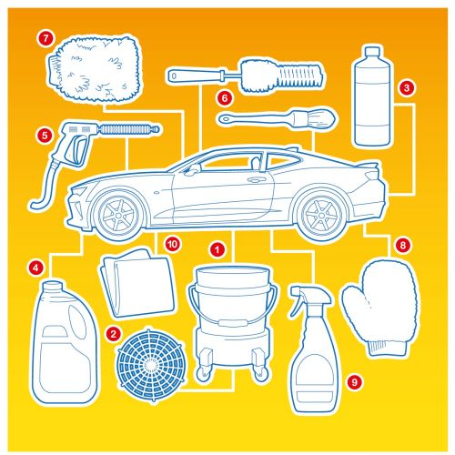 Infographic illustration of Chevrolet Gleam