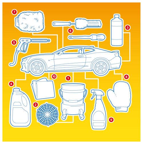 Infographic illustration of Chevrolet Gleam