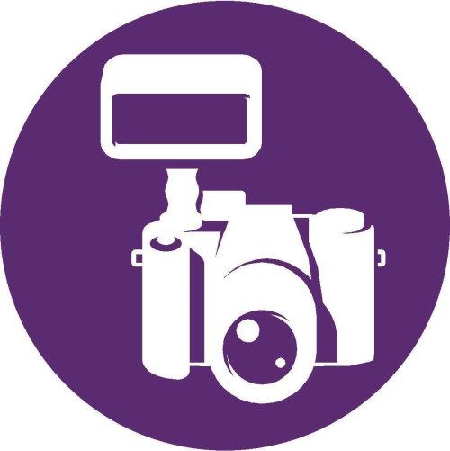 Digital camera iconic diagram