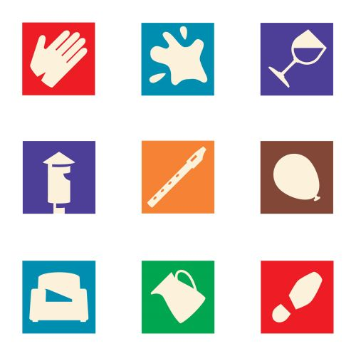 Childrens book Footprints icon