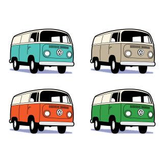 Iconic Designs For Volkswagen Camper Van