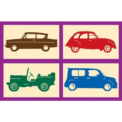 Different vehicles icons