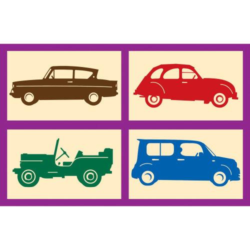 不同的车辆图标