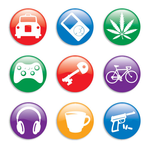 web app buttons Willie,Ryan,illustrator,illustration,graphic,children's book, symbol,logo,icon, sign