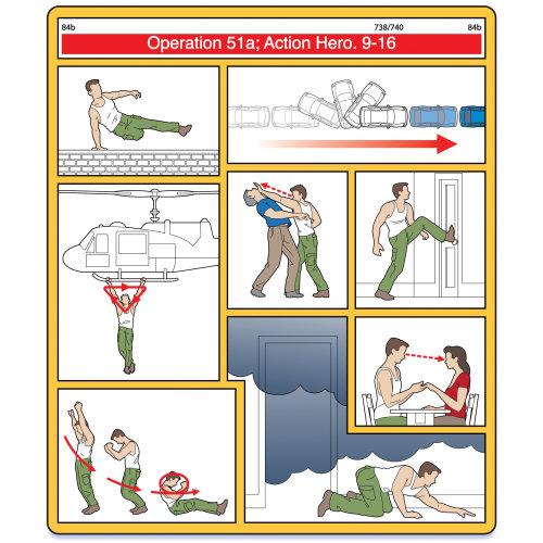 动作英雄飞机安全图纸