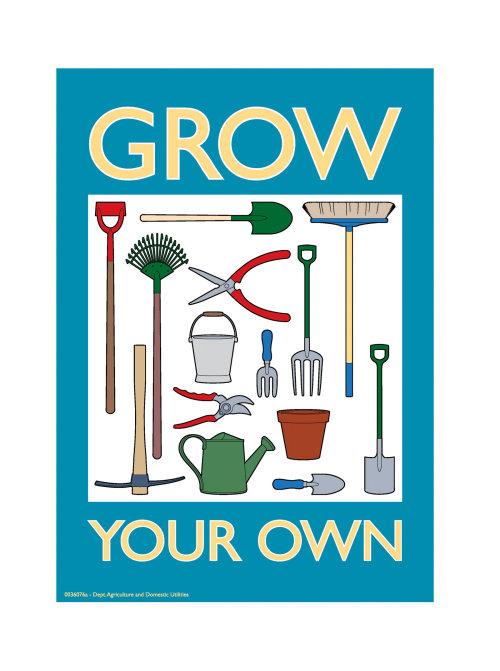 园艺工具插图,威利·瑞安(Willie Ryan)