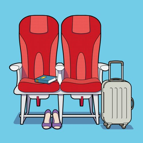 Graphic Illustration For Listerine Breath aeroplane seating,Willie,Ryan,illustrator,illustration,gra