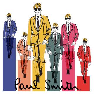 Illustration of men fashions
