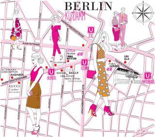 Illustration of woman fashions