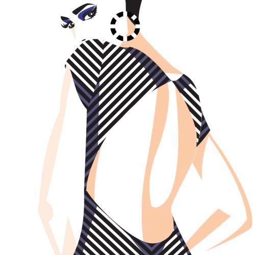 Yordanka Poleganova International fashion illustrator. Germany