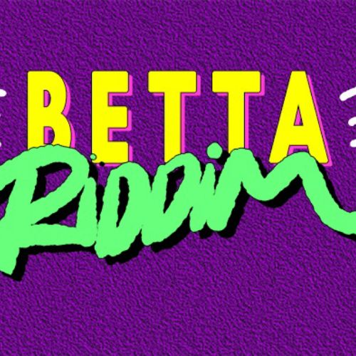 Gif animation of Betta Riddim lettering