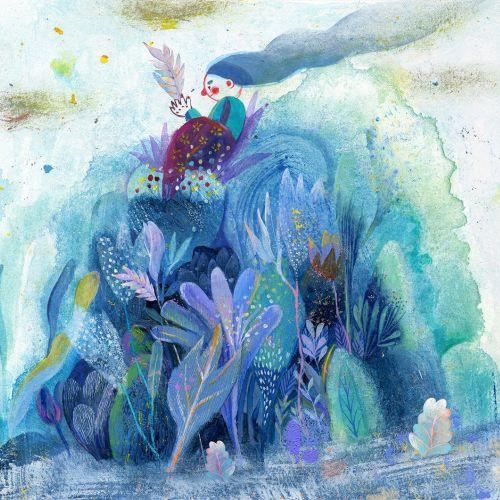 Children's Book illustration by Zhe Titi