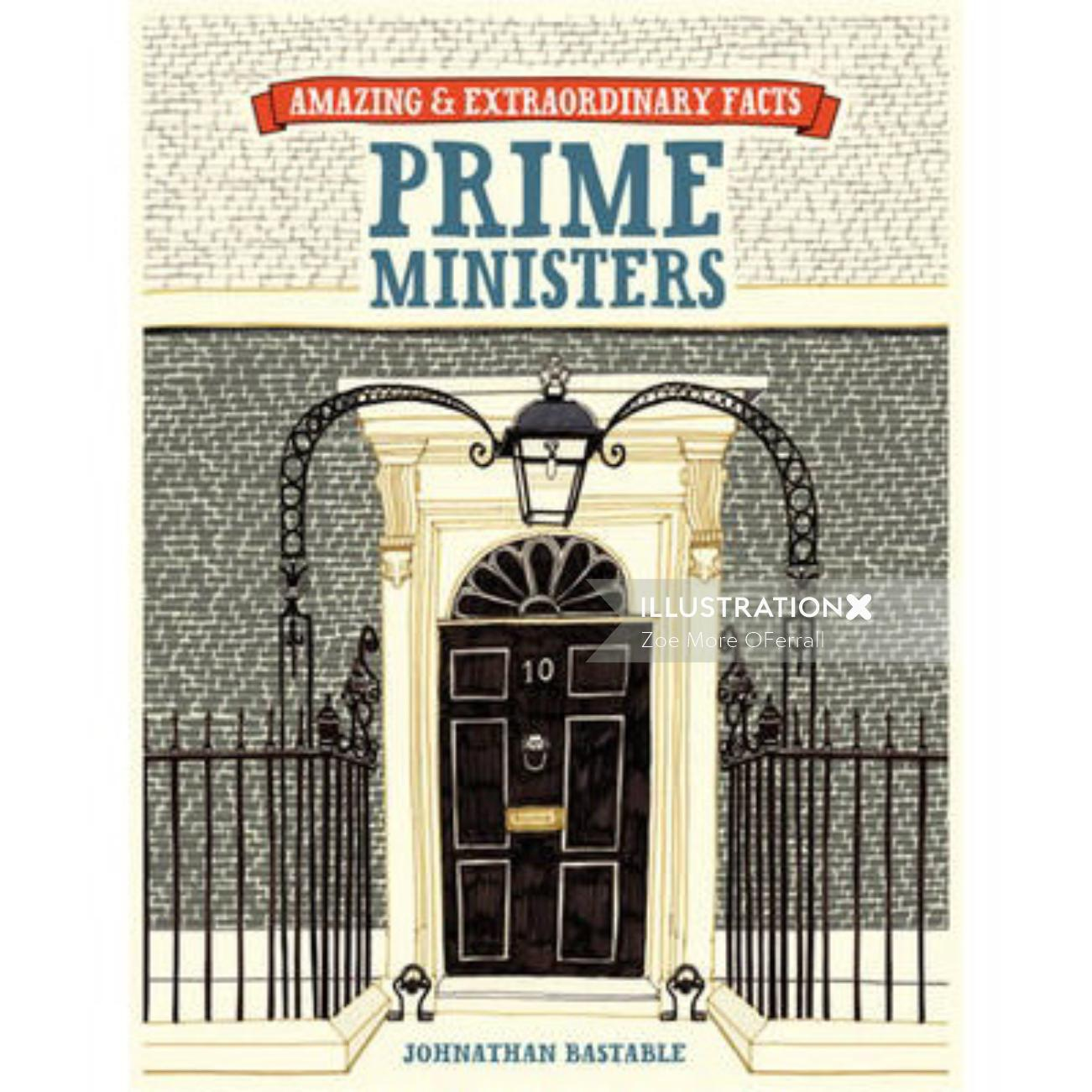 Illustration of  prime minister residence By Zoe More O'Ferall