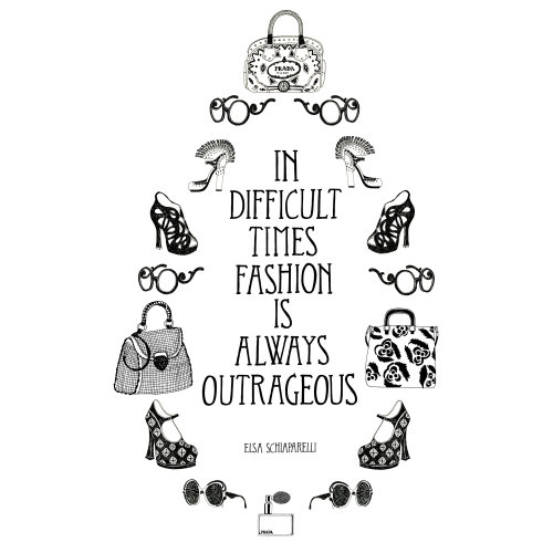 Fashion is always outrageous