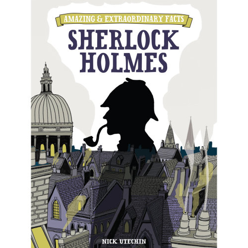 Illustration of Sherlock Homes cover By Zoe More O'Ferall