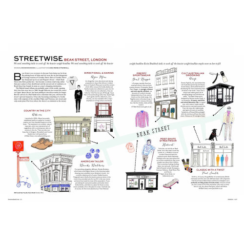 Streetwise London Paper design