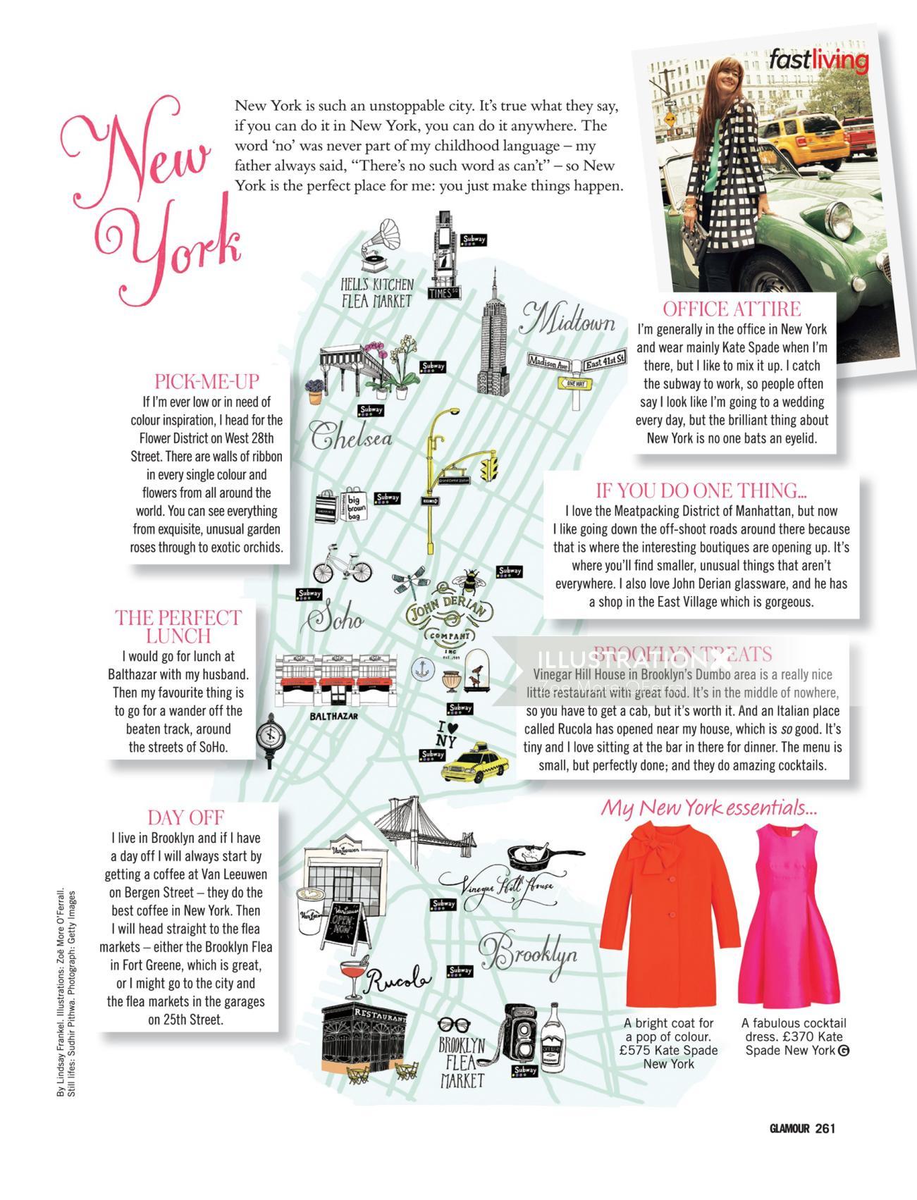 Glamour Editorial Design