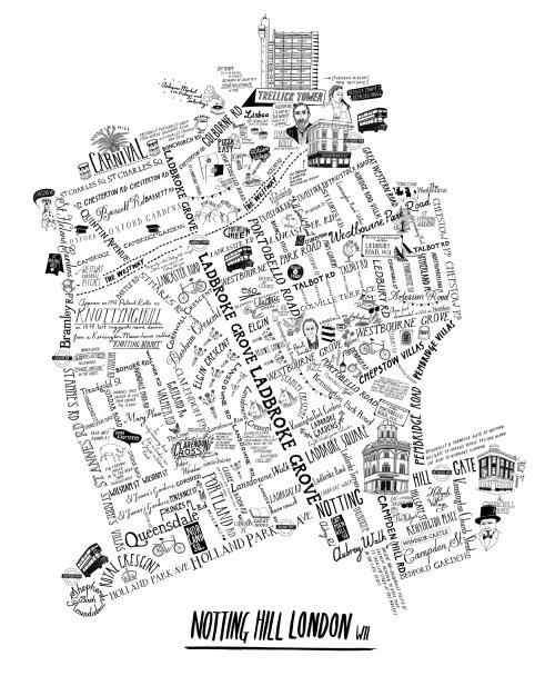 Nottinghill Street Map