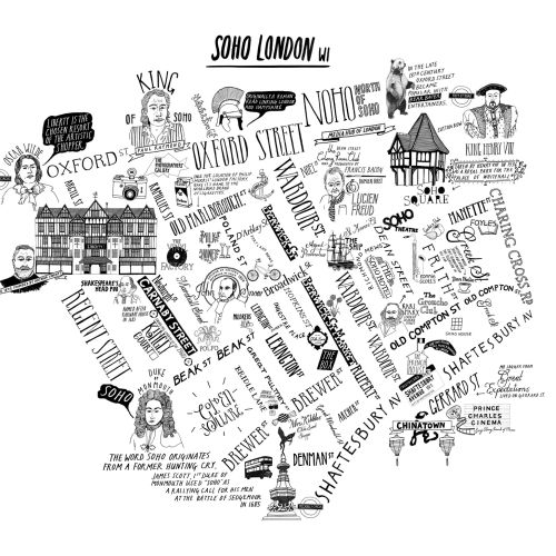 Soho London Map