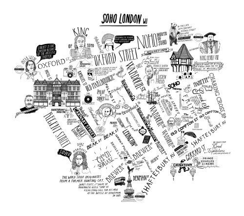 Soho London Map