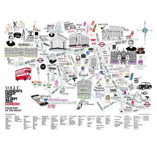 Fashion Nightout map