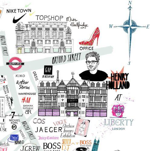 Vogue Group Fashion Street Map