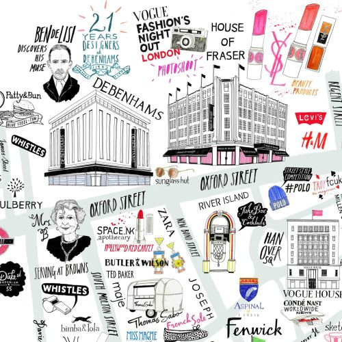 Vogue Fashion Map