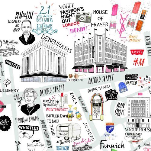 Vogue Fashion Map