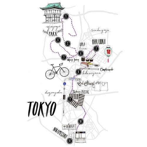 Tokyo Street Map