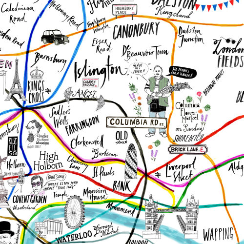 London Entertainment Map