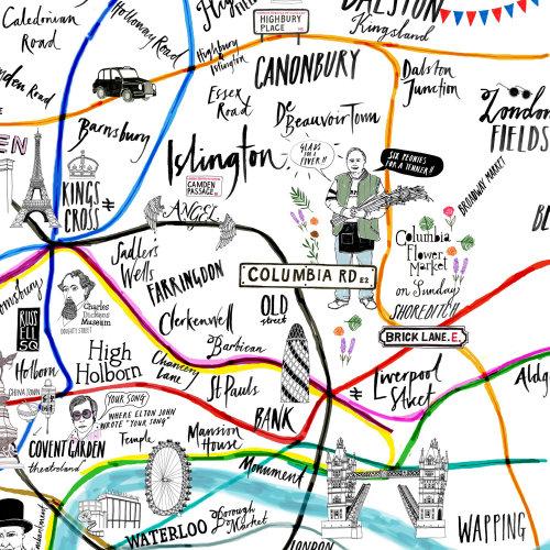 London Entertainment Map