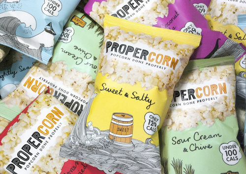 Popcorn Packing Design