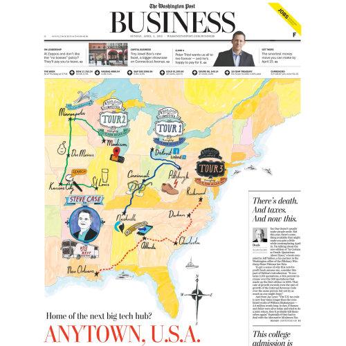 The Washington Post Business paper