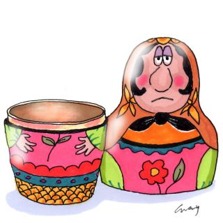 Russian Doll Painting