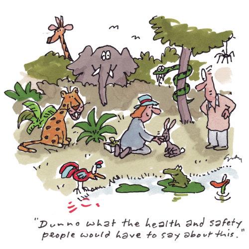 Illustration de la nature de la santé et de la sécurité des animaux