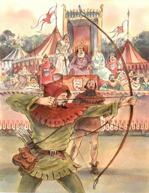 Conceptual art of Archery