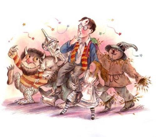 Ilustração dos desenhos animados para livro infantil