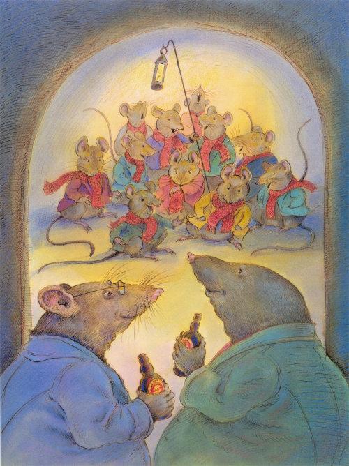 Mice gang digital painting